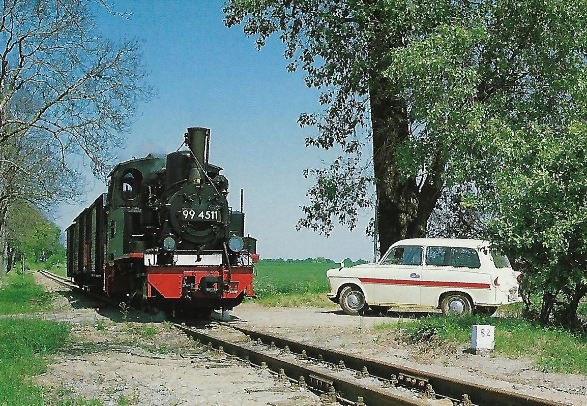 Prignitzer Kleinbahnmuseum e.V. 99 4511 (Bj. 1899) bei Klenzendorf. Eisenbahn Bestell-Nr. 50730