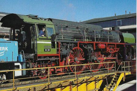 Dampflokwerk Meiningen DR 18 201. Eisenbahn Bestell-Nr. 50746