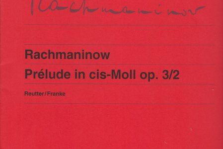 Prélude cis-Moll
